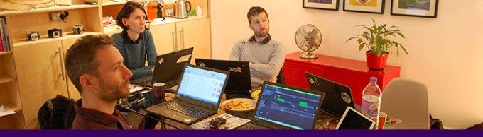 Ashlea Eagle describes a very analytical hackday!